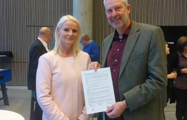 Anne-Dorte Krog og Nils-Henrik Gylstorff