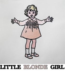 Little blond girl